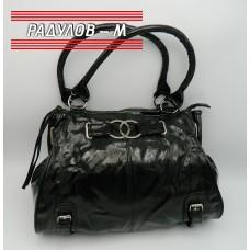 Дамска лачена чанта / 3387-16