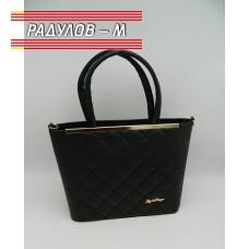 Дамска кожена чанта / 3387-19
