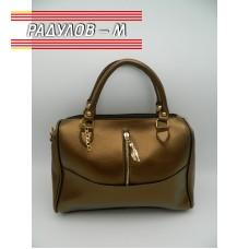 Дамска кожена чанта / 3387-2