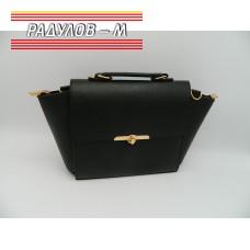Дамска кожена чанта / 3387-22