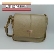 Дамска кожена чанта / 3387-24