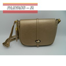 Дамска кожена чанта / 3387-28