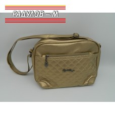 Дамска кожена чанта / 3387-29