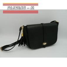 Дамска кожена чанта / 3387-30
