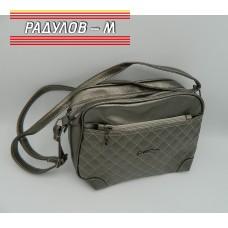 Дамска кожена чанта / 3387-31