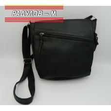 Дамска кожена чанта / 3387-32