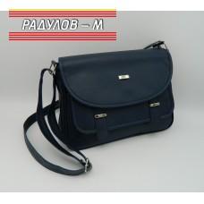 Дамска кожена чанта / 3387-33
