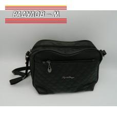 Дамска кожена чанта / 3387-34