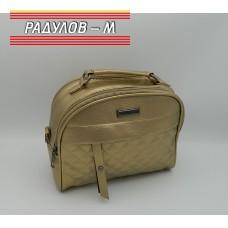 Дамска кожена чанта / 3387-37