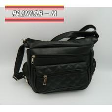 Дамска кожена чанта / 3387-39