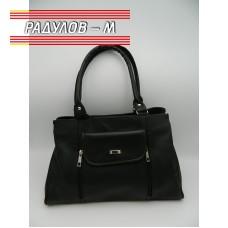 Дамска кожена чанта / 3387-4