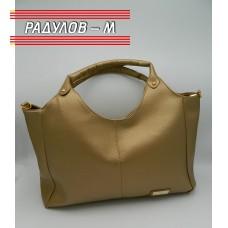 Дамска кожена чанта / 3387-5
