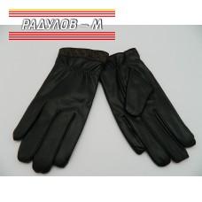 Ръкавици дамски кожа с ластик / 380