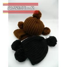 Комплект дамски шал и шапка / 4816