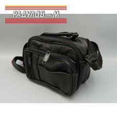 Мъжка кожена чанта / 5101