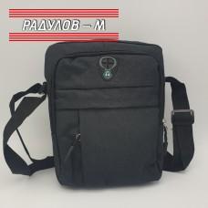 Мъжка платнена чанта 19 х 24см / 5109