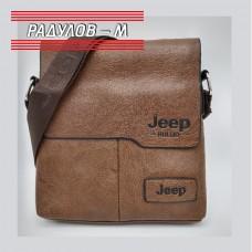 Мъжка кожена чанта JEEP / 5135