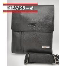 Мъжка кожена чанта Jeep / 5138