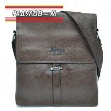 Мъжка кожена чанта Jeep / 5147