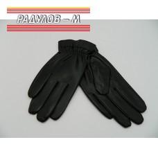 Ръкавици дамски кожа с ластик / 856