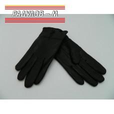 Ръкавици мъжки кожа с цип / 859