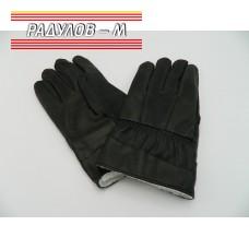 Ръкавици мъжки кожа с подплата / 860