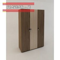 Гардероб Ренета трикрилен / 30301