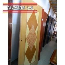 Интериорна врата с каса и брава / 142