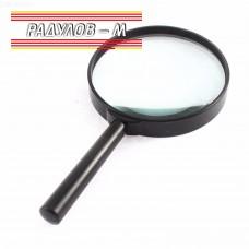Лупа с пластмасова дръжка ф90мм, увеличение 3х / 5619