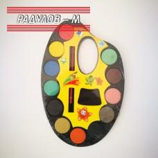 Водни бои палитра 12 цвята / 5692