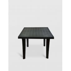 Пластмасова маса Sterk квадрат 90*90 см, зелена / 0518
