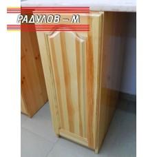 Кухненски шкаф плътен чам / 30124