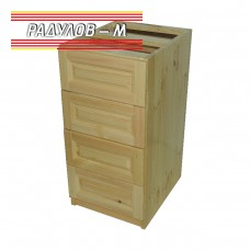 Кухненски шкаф / модул  чам с четири чекмеджета 50 см / 30542