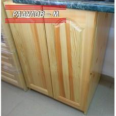 Кухненски шкаф чам с две врати A60, долен ред, 60 см / 30500