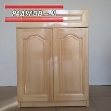 Кухненски шкаф с чекмедже чам долен ред 60 см / 30501