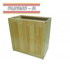 Кухненски шкаф с две вратички чам / 30502