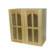 Кухненски шкаф със стъклени вратички / 30539