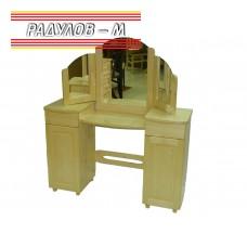 Тоалетка с огледало чам / 30517