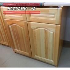 Кухненски шкаф долен ред, с чекмеджета,  чам 80 см  / 30554