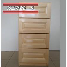 Кухненски шкаф чам А42, с 4 чекмеджета, долен ред, 40 см / 30130