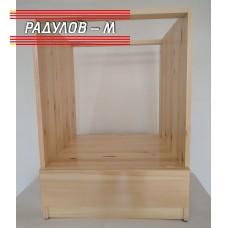 Кухненски шкаф/модул за фурна за вграждане  чам  / 30650