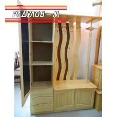 Портманто ЛУКС - чамова дървесина / 30618