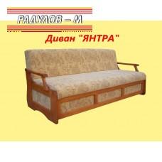 Клик-клак диван масив с ракла Янтра / 30400