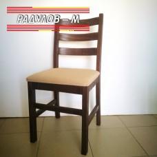 Трапезен стол Виктория орех / 1-046