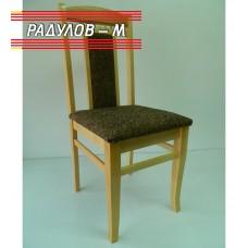 Трапезен стол Люси натурален цвят / 756020