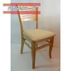 Трапезен стол Яна цвят натурален / 90039