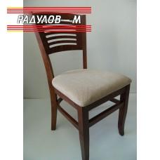 Трапезен стол Яна цвят есенна череша / 90050