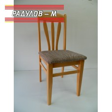 Трапезен стол Лале цвят натурален / 771220А