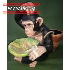 Градинска фигура шимпанзе  / 1874