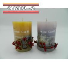 Свещ ароматна цилиндър / 2216